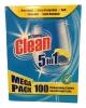 At Home Clean Таблетки для п/моечной машины, 100 шт - Таблетки для посудомоечной машины At Home Clean Dishwashing Tablets 5 in 1, 100 шт