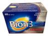 Bion3 Senior, 60 табл. - Bion3 Senior содержит: 3 штамма молочнокислых бактерий, 12 витаминов, 7 минеральных веществ