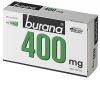 Burana 400 mg, 20 таблеток - Болеутоляющий и жаропонижающий медикамент Burana 400 mg, 30 таблеток