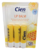 Cien Бальзам для губ с молоком и медом, 3 шт. - Увлажняющее средство для ухода за губами c молоком и медом, с витамином Е, маслом ши и провитамином В5.