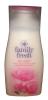Family Fresh Гель для душа с экстрактом шелка, 500 мл - Увлажняющий крем для душа Caring Shower Cream with Nourishing Silk Extract с питательным экстрактом шелка.