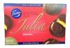 Fazer Julia Печенье с фруктовой начинкой, 300 гр - Печенье Fazer Julia Original с фруктовой начинкой, покрытое шоколадом, 300 гр, 24 шт.