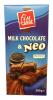 Fin Carre Шоколад молочный с печеньем, 200 гр - Молочный шоколад Fin Carre Milk Chocolate with Neo наполненный печеньем, 200 гр