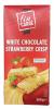 Fin Carre Шоколад белый с клубникой, 200 гр - Белый шоколад с клубничной начинкой. Fin Carre White Chocolate Strawberry Crisp, 200 гр.