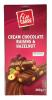Fin Carre Шоколад с фундуком и изюмом, 200 гр - Сливочный шоколад Fin Carre Cream Chocolate Raisins & Hazelnut с фундуком и изюмом, 200 гр.