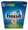 Finish All in 1 Таблетки для п/м машины, 112 табл - Таблетки для посудомоечной машины Finish Powerball Super Charged All in 1 эффективно очищают, удаляют пятна, содержат соль, защищают машину и обезжиривают, 112 таблеток.
