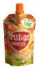 Fruit&Go Bio Пюре орган. (Яблоко-персик-банан-абрикос), 100 гр - Органическое пюре Fruit & go Squeezer Bio Apple-Peach-Banana-Apricot Яблоко-персик-банан-абрикос, 100 гр
