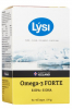 LYSI Omega-3 Forte 620 mg, 64 капс - LYSI Omega-3 Forte 620 mg - Богат Омега-3 жирными кислотами DHA и EPA, 64 капсул. DHA и EPA поддерживают нормальный режим работы сердца, мозга и зрения. Пищевая добавка.