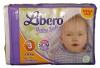 Libero 3 Baby Soft MEGA PACK  (5-8 кг) 88 шт. - Начиная с  Libero 3, подгузники имеют запатентованный поверхностный слой, который поглощает влагу быстрее, чем другие материалы.  Libero 3 имеют упругие края и липучки. Ребенок может безопасно сидеть и двигаться.