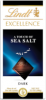 Lindt Excellence Шоколад темный Морская соль, 100 гр - Темный шоколад Lindt Excellence Морская соль, 100г