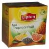 Lipton Чай чёрный (ананас, грейпфрут), 20 шт - Чай Lipton Tropical Fruit 20 шт