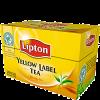 Lipton Чай чёрный, 20 шт - Чай Lipton Yellow Label 20 шт