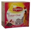 Lipton Чай чёрный (яблоко, корица, имбирь, ваниль), 20 шт - Пряный чёрный чай Lipton Indian Chai со вкусом яблока, корицы, имбиря и ванили. Погрузитесь в экстравагантности Индии.