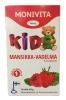Monivita Kids  Витаминный комплекс с клубникой и малиной, 90 таб - Мульти-витаминный и минеральный комплекс Monivita Kids Mansikka-Vadelma изготовлены специально детей, с ароматом клубники и малины, 90 табл. Содержит 14 различных витаминов и минералов. Содержит подсластители.