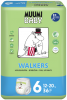 Muumi 6 Baby Walkers трусики, 36 шт (12-20 кг) - 12 - 20 кг ( 36 шт ) трусики