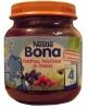 Nestle Bona яблоко, малина, черника 125гр., с 4мес. - Фруктовое пюре Nestle Bona яблоко, малина, черника 125гр., с 4-х месяцев. Фруктовое пюре обогащенное витамином С.  Пюре с черникой, малиной и яблоками: отличная закуска и добавка к каше.  Состав: Яблочное пюре (31%), вода, яблочный сок (19%), черник