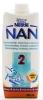 Nestle NAN 2 500 мл (Нестле НАН 2 Готовая смесь) - 500  мл    Готовая  к  употреблению  молочная  смесь  Для  малышей  с  6  месяцев