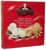 PapaGena Вафельные шарики с кремом, 300 гр - Вафельные шарики PapaGena Waffelkugeln - Erdnuss & Kokos наполненные арахисовым и кокосовым кремом, 300 гр