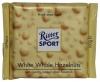 Ritter Sport Шоколад белый с цельными лесными орехами, 100 гр - Белый шоколад Ritter Sport White Whole Hazelnuts с хрустящими жареными цельными лесными орехами, 100 гр