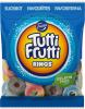 Tutti Frutti Rings Конфеты кольца, 180 гр - Кондитерские изделия Tutti Frutti Rings кольца, 180 гр. Без желатина.