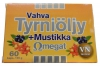 Vahva Tyrniöljy + Mustikka Омега + облепиховое масло + Черника, - Vahva Tyrniöljy + Mustikka Омега + облепиховое масло + черника, 60 капсул