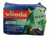 Vileda Active Scrub Губка для мытья посуды, 1 шт - Губка для мытья посуды Vileda Active Scrub удалит грязь без хлопот и царапин, 1 шт.
