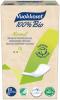 Vuokkoset Bio Прокладки ежедневные (2 кап.), 26 шт - Vuokkoset Bio Normal Нормальная биоразлагаемая прокладка (2 капли), 26 штук Vuokkoset 100% Bio Normal - очень приятная мягкая прокладка для повседневного использования.
