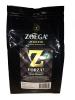 Zoegas Forza Кофе в зернах (обжиг 8), 450 гр - Кофе в зернах Zoegas Forza огненный и мощный, с нотками темного шоколада и перца чили, 450 гр. Обжиг №8, полнота №5, кислотность №1. 100% арабские бобы.