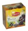 Lipton Чай чёрный (черника, ежевика, чёрная смородина), 20 шт - Скандинавский микс Lipton Blue Fruit Tea - это чёрный чай с кусочками черной смородины, ежевики, черники и малины, в пирамидках, 20 шт.