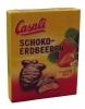 Casali Суфле банановое в шоколаде с клубникой, 150 гр - Суфле Casali банановое в шоколаде с клубникой , 150 гр