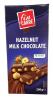 Fin Carre Шоколад молочный с цельным фундуком, 200 гр