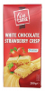 Fin Carre Шоколад белый с клубникой, 200 гр