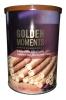 Golden Moments Вафельные трубочки капучино, 400 гр