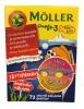 "Moller Omega-3 Pikkukalat ""Маленькие рыбки"" с фрукт. вкусом, 72"