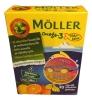 "Moller Omega-3 Pikkukalat ""Маленькие рыбки"" апельсин-лимон, 45 ш"