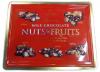 NUTS & FRUITS Конфеты шоколадные с орехами и фруктами, 800 гр.