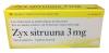 Zyx Sitruuna 3 mg, 20 шт