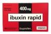 ibuxin rapid ibuprofen 400 mg, 10 табл.