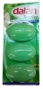 DALAN Trophy Мыло зеленое яблоко, 3 шт х 90 гр