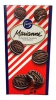 Fazer Marianne Печенье с мятой, 345 гр - Шоколадное печенье Fazer Marianne с мятной начинкой (33%), 345 гр, 24 шт.