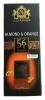 J.D.Gross Шоколад черный 56% апельсин и миндаль, 125 гр