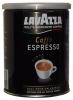 Lavazza Espresso Кофе молотый ж/б, 250 гр - Молотый кофе Lavazza Caffe Espresso средней степени обжарки, интенсивный и бархатистый, жестяная банка 250 гр. Сделано в Италии. 100% Арабика. Подходит для всех видов приготовления кофе (турка, кофейник, проточная кофеварка, кофе-машина).
