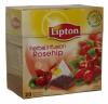 Lipton Чай чёрный (шиповник), 20 шт