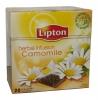 Lipton Чай травяной (ромашка), 20 шт - Травяной настой ромашки Lipton Herbal Infusion Camomile в пирамидках, 20 шт.