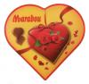 Marabou Конфеты в форме сердца, 180 гр