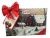 Sorini Шоколад молочный с ореховым кремом, 300 гр - Молочный шоколад пралине Sorini Merry Christmas с ореховым кремом (49%).