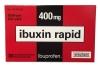 ibuxin rapid ibuprofen 400 mg, 30 табл. - Болеутоляющее средство ibuxin rapid ibuprofen 400 mg, 30 табл. Быстрый эффект. Делимые таблетки. Помощь при мигрени.