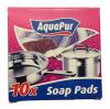 AquaPur Губки мыльные, 10 шт
