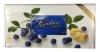Kalev Шоколад белый с воздушным рисом и черникой, 300 гр