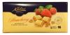Kalev Шоколад белый с клубникой и печеньем, 300 гр